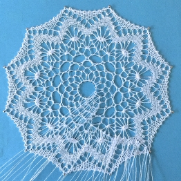 Torchon lace made by Yvette Slabbert
